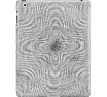 One Line Sprial iPad Case/Skin
