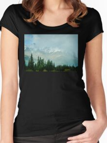 Alaska Range 2 Women's Fitted Scoop T-Shirt