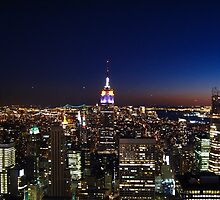 Empire State Building in New York City by nakamitsud