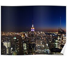 Empire State Building in New York City Poster