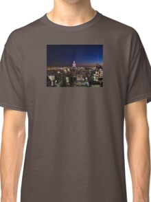 Empire State Building in New York City Classic T-Shirt