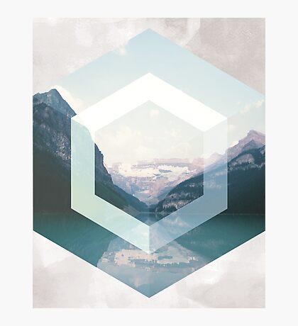 Geometric Landscape Photographic Print