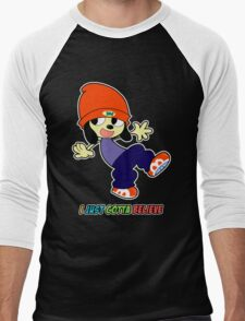 Parappa - I Just Gotta Believe Men's Baseball ¾ T-Shirt