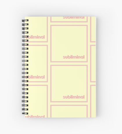subliminal Spiral Notebook