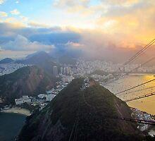Rio de Janeiro at Sunset by nakamitsud