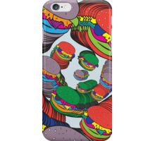 Trippy Burgers iPhone Case/Skin