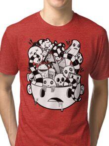 little Doodle Monsters #2 Tri-blend T-Shirt