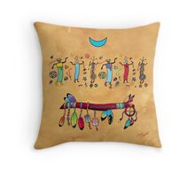 Medicine Stick Throw Pillow