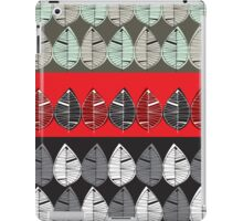 Retro beat leaves iPad Case/Skin