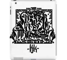 Graffiti script Graphic iPad Case/Skin