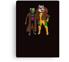 Good Grief, X-Muppets Canvas Print