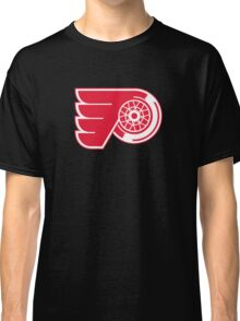 Flyers - Red Wings Logo Mashup Classic T-Shirt