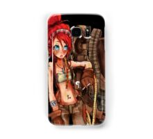 Steampunk girl with Amplified Mobility Platform Samsung Galaxy Case/Skin