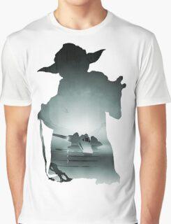 Yoda Silhouette Graphic T-Shirt