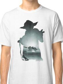 Yoda Silhouette Classic T-Shirt
