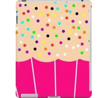 Pink Cupcake with Sprinkles iPad Case/Skin