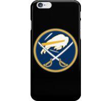 Sabres - Bills Logo Mashup iPhone Case/Skin