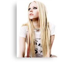 avril Canvas Print
