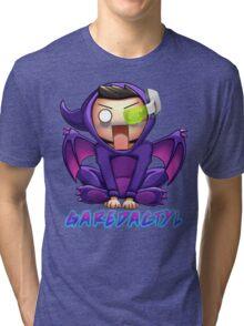 Garedactyl Scared Scouter Tri-blend T-Shirt