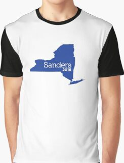 Bernie Sanders 2016 State Pride - New York Graphic T-Shirt