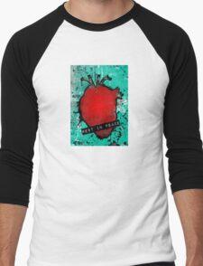 rest in peace anatomical heart Men's Baseball ¾ T-Shirt