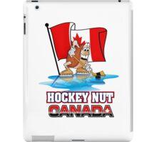 Hockey Nut CANADA iPad Case/Skin
