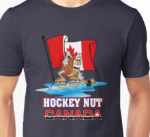 Hockey Nut CANADA Unisex T-Shirt