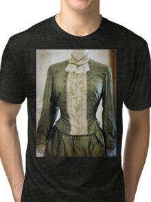 Ladies Victorian Costume Tri-blend T-Shirt
