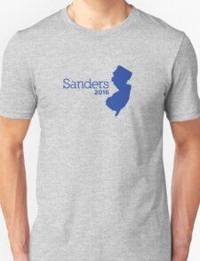 Bernie Sanders 2016 State Pride - New Jersey Unisex T-Shirt