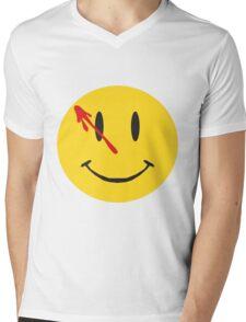 Watchmen Logo Mens V-Neck T-Shirt