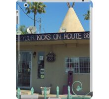 Route 66 - Wigwam Motel iPad Case/Skin