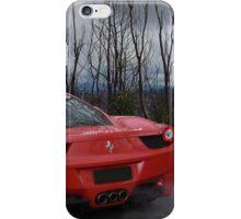 Ferrari 458 (back) iPhone Case/Skin