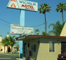 Route 66 - Wigwam Motel Sticker