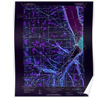New York NY Ithaca West 130079 1949 24000 Inverted Poster