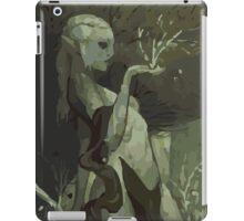Female Elf Tarot Card iPad Case/Skin