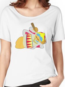 KING DEDEDE | Super Smash Taunts | Crouch Women's Relaxed Fit T-Shirt
