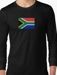 South Africa Flag - African Rugby Springboks, Sticker Duvet Bedspread T-Shirt Long Sleeve T-Shirt