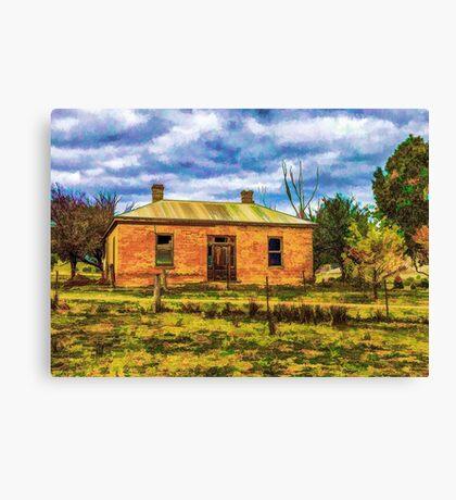 Heritage history Canvas Print