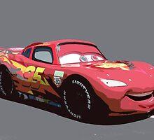 Lightning Mcqueen Race Car  by kennedyfotos