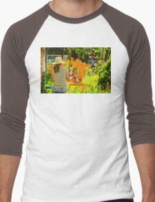Art in the Garden Men's Baseball ¾ T-Shirt