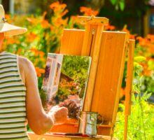 Art in the Garden Sticker