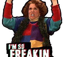 Kristen Wiig - So Freakin' Exited! - Saturday Nigh Live Sketch by madradmitchell