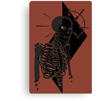 Alfred the skeleton Canvas Print