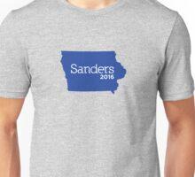 Bernie Sanders 2016 State Pride - Iowa Unisex T-Shirt