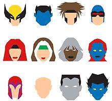 Xmen Icons by mattmagargee