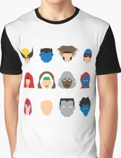 Xmen Icons Graphic T-Shirt