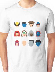 Xmen Icons Unisex T-Shirt