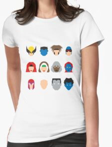 Xmen Icons Womens Fitted T-Shirt