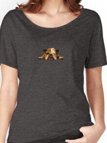 English Bulldog - Lazy Beast Women's Relaxed Fit T-Shirt