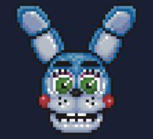 Adventure Toy Bonnie - FNAF World - Pixel Art Kids Clothes